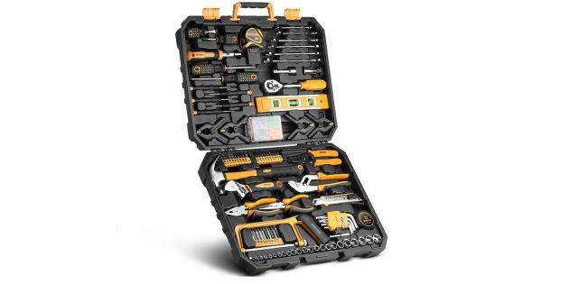 Набор инструментов Deko DKMT168