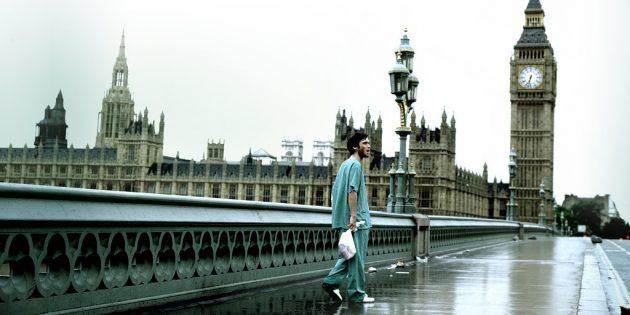 Кадр из фильма «28дней спустя»