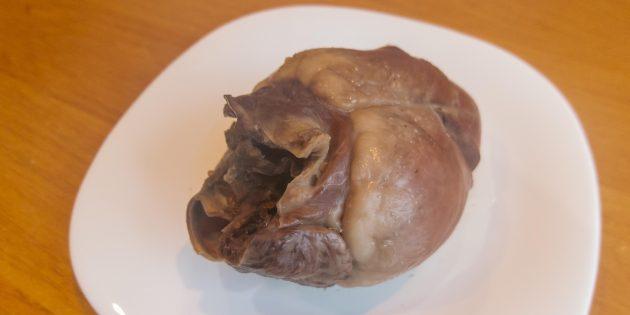 Сколько варить свиное сердце