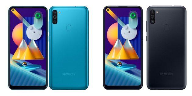 Недорогие смартфоны — 2020: Samsung Galaxy M11