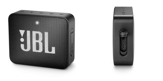 Беспроводные колонки — 2020: JBL Go 2Plus