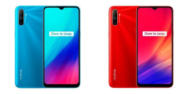 Недорогие смартфоны — 2020: Realme C3