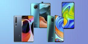 5 новых смартфонов Xiaomi, которые стоит купить