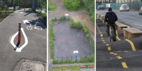 Когда не для людей: 12 фото ужасного уличного благоустройства