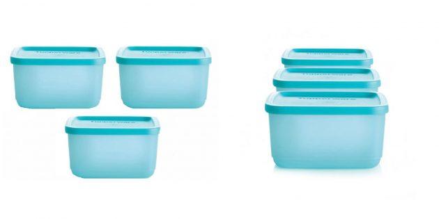 Набор пищевых контейнеров Tupperware