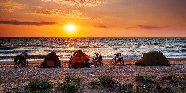 Отдых на море в России: Арабатская стрелка, Азовское море, Крым
