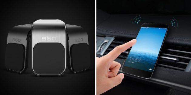 автотовары на алиэкспресс: магнитный держатель Xiaomi