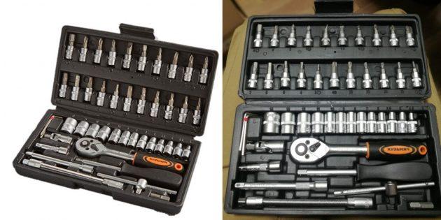 автотовары на алиэкспресс: набор инструмента