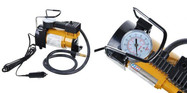 автотовары на алиэкспресс: компрессор для шин