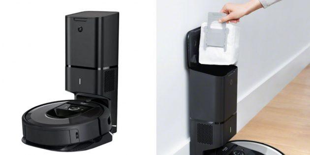 Роботы-пылесосы: iRobot Roomba i7+