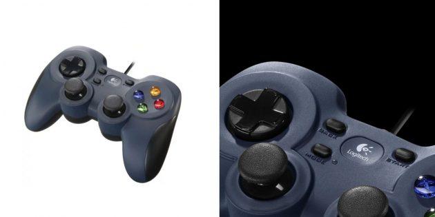 Удобные геймпады: Logitech F310