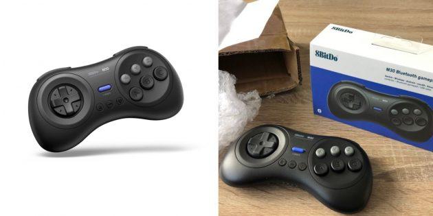 Удобные контроллеры: 8BitDo M30