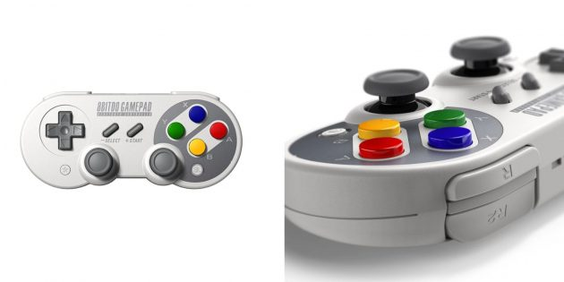 Удобные контроллеры: 8BitDo SN30Pro