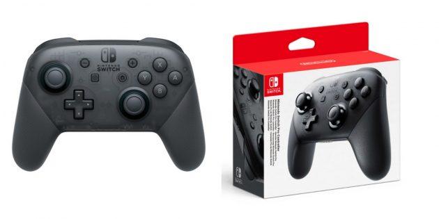 Удобные контроллеры: Nintendo Switch Pro Controller