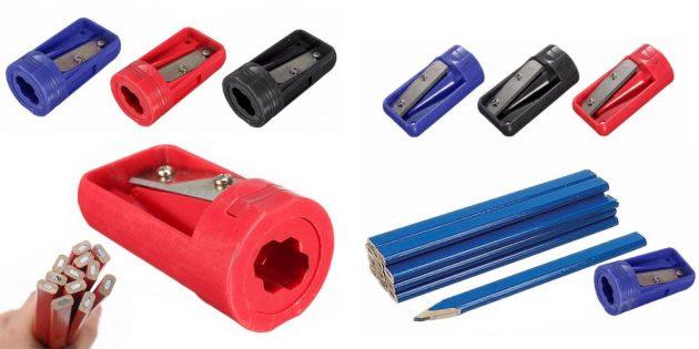 столярные инструменты: точилка для карандашей