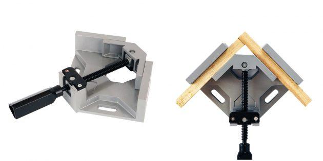 столярные инструменты: угловые тиски
