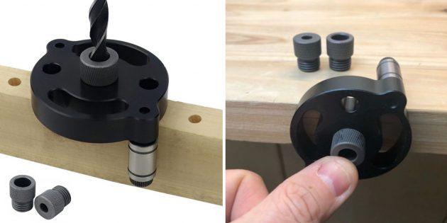 столярные инструменты: самоцентрирующийся кондуктор