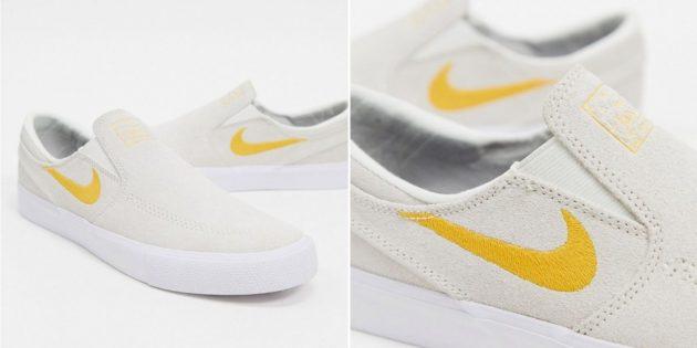 Какую летнюю обувь купить: слипоны Nike