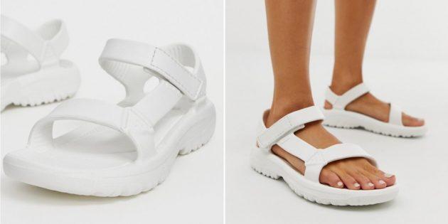 Какую летнюю обувь купить: сандалии Teva