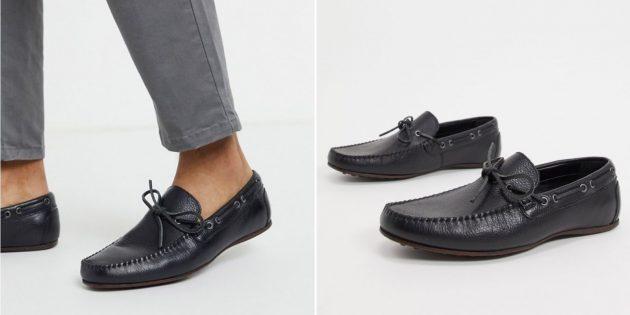 Какую летнюю обувь купить: мокасины ASOS Design