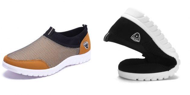 Какую летнюю обувь купить: сетчатые кроссовки