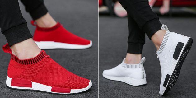 Какую летнюю обувь купить: мужские тканевые кроссовки