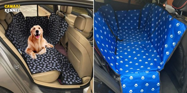 Чехол для перевозки собак в машине