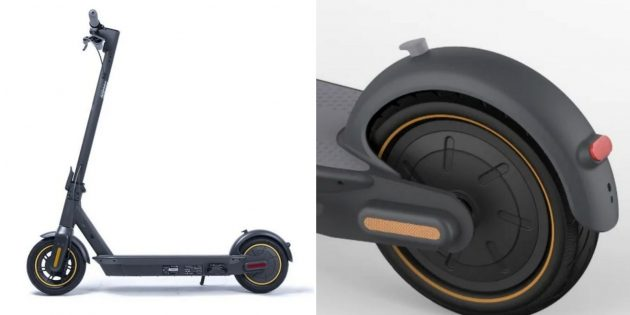 Какой купить электросамокат: Ninebot KickScooter Max G30P