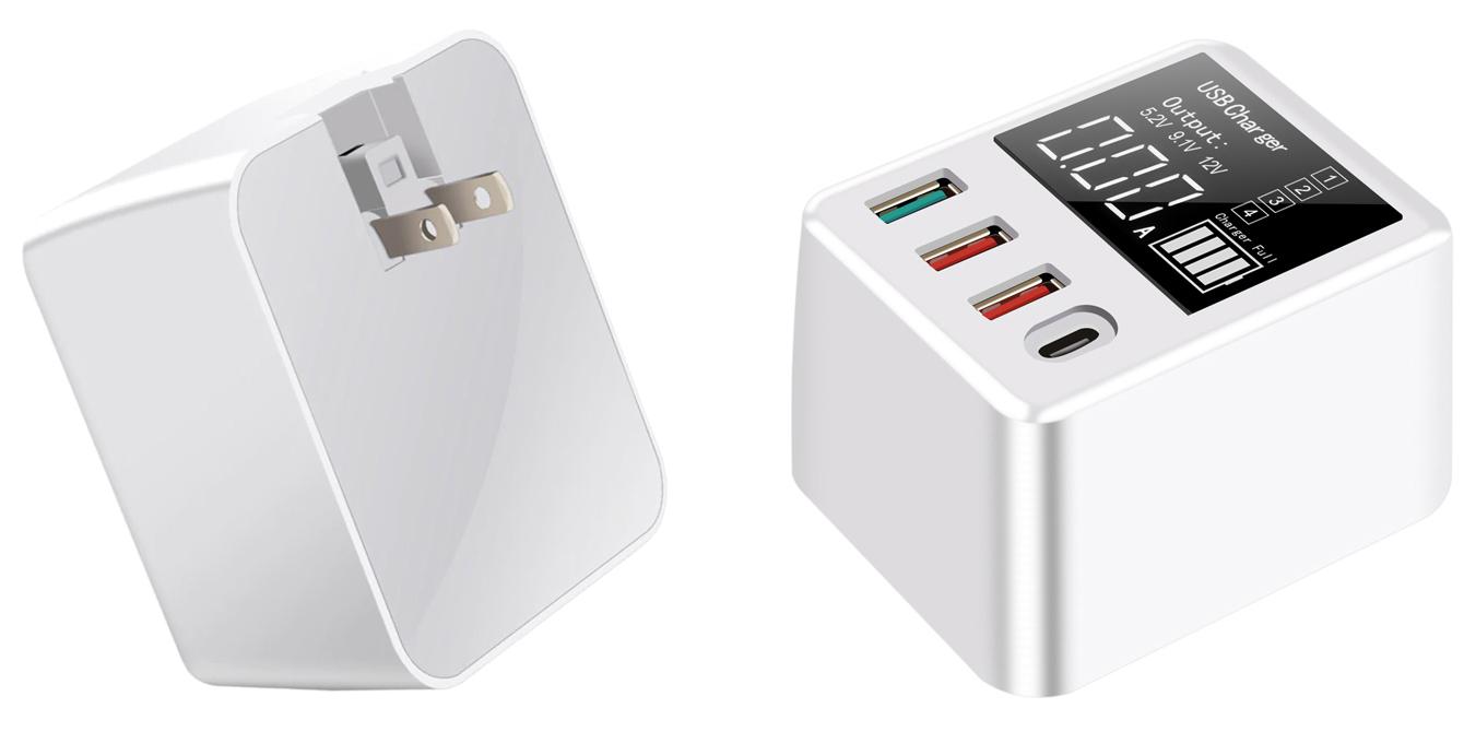 зарядное устройство с дисплеем