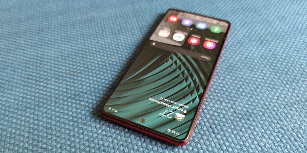 Samsung Galaxy A51: дизайн