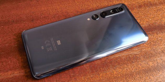 Дизайн Xiaomi Mi 10