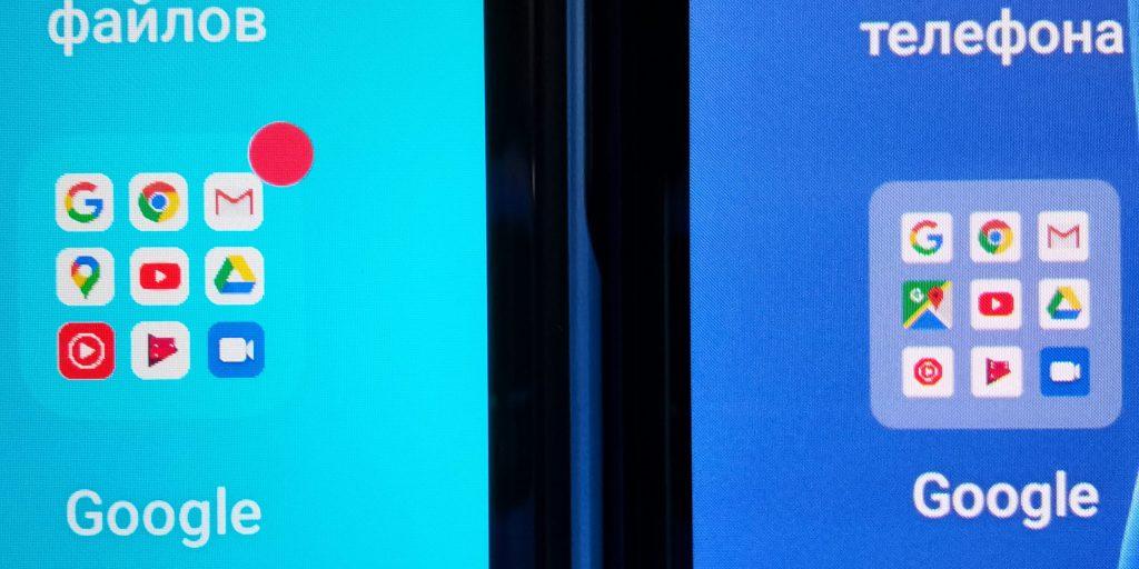 Сравнение экранов OPPO A72 и OPPO A91