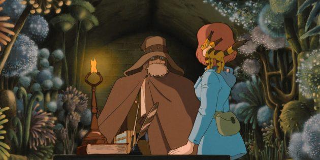 Кадр из фильма «Навсикая из Долины ветров»