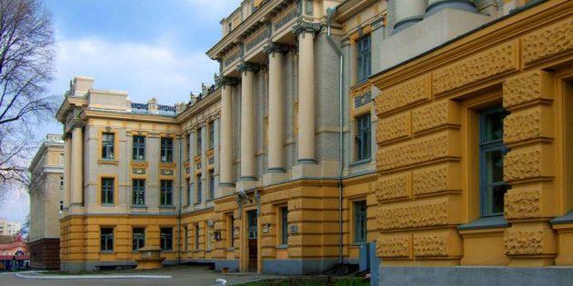 Достопримечательности Саратова: Университетский городок