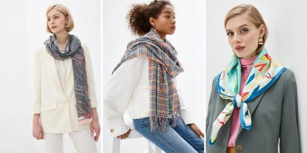 Что подарить жене на день рождения: шарф, палантин или платок