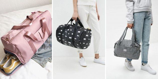 Подарок жене на день рождения: спортивная сумка