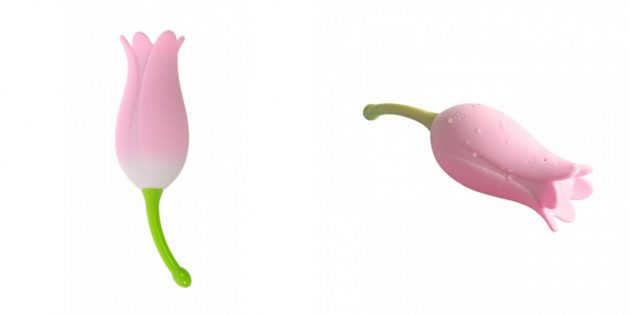 Вибратор в виде цветка OTouch