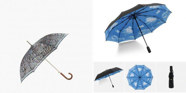 Что подарить жене на день рождения: зонт