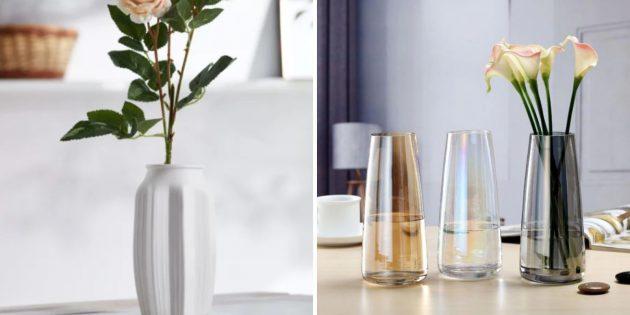 Подарки на новоселье: ваза