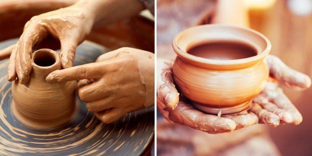 Что подарить женщине на день рождения: урок гончарного мастерства