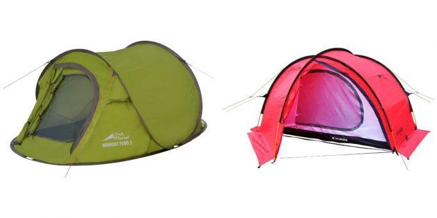 Лучшие подарки женщине на день рождения: палатка