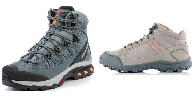 Лучшие подарки женщине на день рождения: ботинки для походов