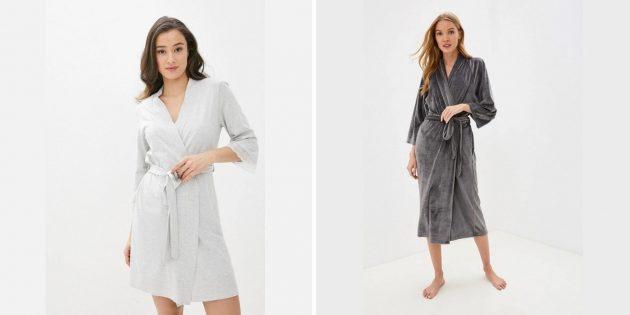 Лучшие подарки женщине на день рождения: мягкий халат