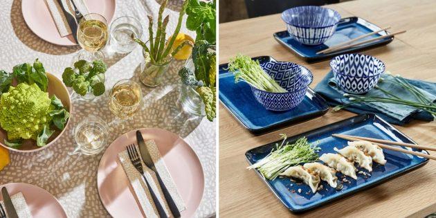 Что подарить женщине на день рождения: набор красивых тарелок