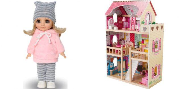 Что подарить девочке на 5лет на день рождения: кукла или кукольный домик