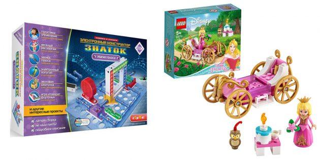 Подарки девочке на 5лет на день рождения: конструктор