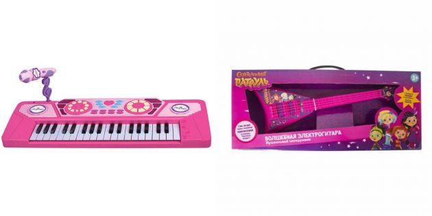 Подарки девочке на 5лет на день рождения: музыкальный инструмент
