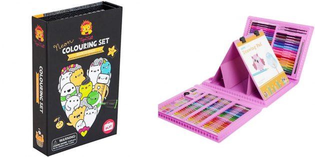 Подарки девочке на 5лет на день рождения: набор для рисования
