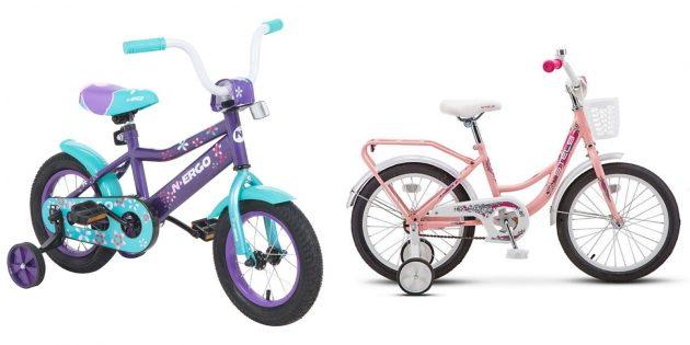 Что подарить девочке на 5лет: велосипед