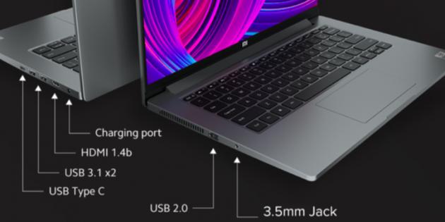 Xiaomi представила бюджетные ноутбуки Mi NoteBook 14